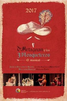 D'Artagnan y los Tres Mosqueteros, El Musical